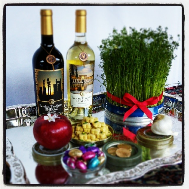 Persian Wine for Norooz