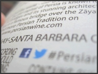 Santa Barbara is where we make our Persian Tradition Chardonnay. Buy some on PersianWine.com