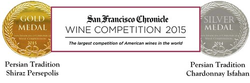 SF wine competition gold medal winner Shiraz Persepolis