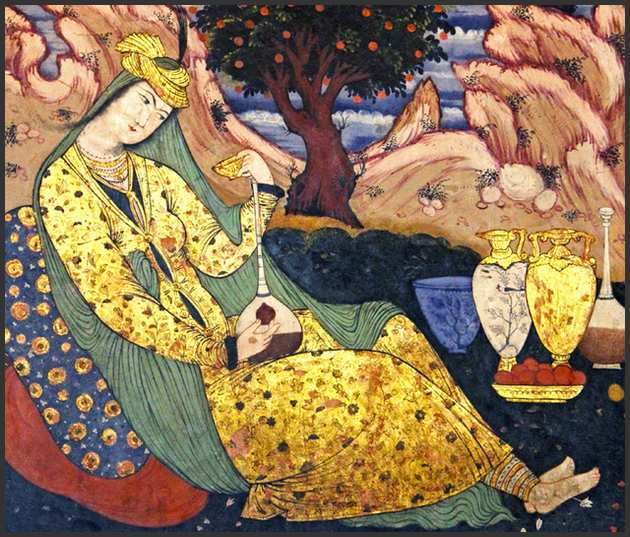 According to a Persian legend, the history of wine began with a beautiful princess and King Jamshid.