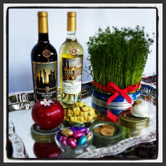 Nowruz is special create a Haft Sin or a Haft Shin read more on PersianWine.com